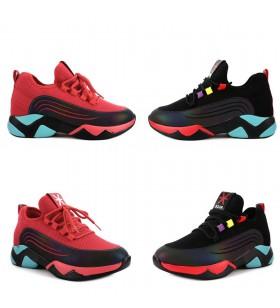 Guja 20K355-1 Kadın Air Taban Bağcıklı Çorap Sneaker Ayakkabı