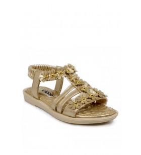 321.p20y.376 Patik Altın Çocuk Sandalet