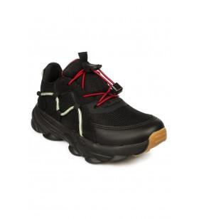 346.f20k.160 Filet Phylon Siyah Çocuk Spor Ayakkabı