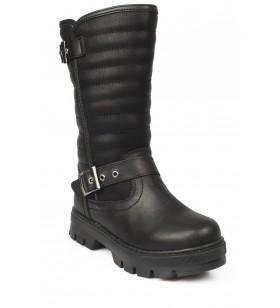 941.p19K.319 Patik Çizme Siyah Çocuk Çizme
