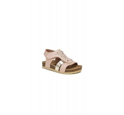 Çocuk Afrodit Sandalet Pudra