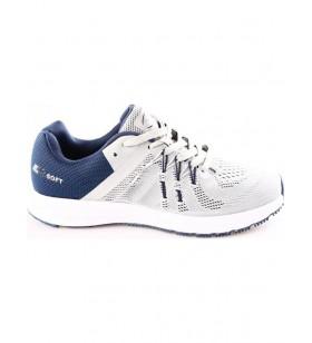 Gri Lacivert Erkek Yürüyüş Ayakkabısı