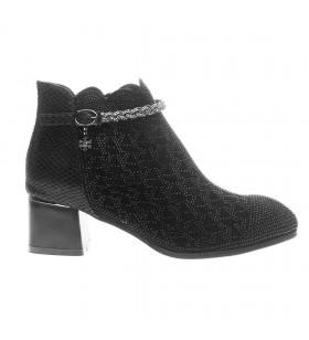 Guja Kalın Topuklu , Taş Süslemeli Ayakkabı