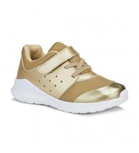Kız Çocuk Altın Renk Spor Ayakkabı Filet Phylon 346.f20y.201-21