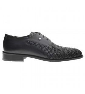 Pierre Cardin 70146 Örme Desenli Hakiki Deri Erkek Ayakkabı