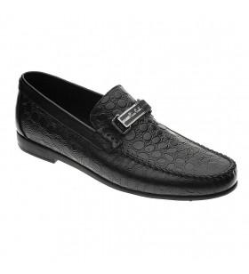 Pierre Cardin 2532 Siyah Krok Desenli Erkek Ayakkabı
