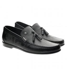 Pierre Cardin 2537 Siyah Krok Desenli Erkek Ayakkabı
