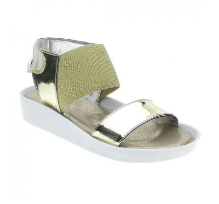 Vicco Kız Çocuk Sandalet - Altın Rengi